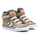 Converse Khaki and White Infants Pro Blaze Stripe - Hi