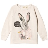 Soft Gallery Antonia Sweatshirt Cream Melange, Conejo
