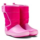 Crocs Kids Candy Pink LodgePoint Snow Boot K