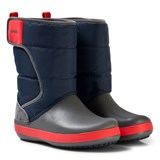 Crocs Kids Navy/Slate Grey LodgePoint Snow Boot K