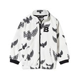 The BRAND Off-White Eagle Print Fleece Sweater