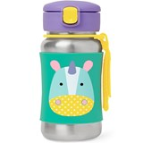 Skip Hop Unicorn Stainless Steel Straw Bottle