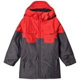 Volcom Red Blocked Insulated Ski Jacket