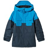 Volcom Blue Blocked Insulated Ski Jacket