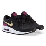 Nike Black and Gold Nike Air Max Zero Essential Junior Trainers