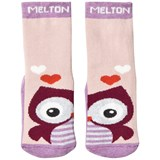 Melton Abs Sock Terrycotton - Owl Very Grape