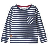 eBBe Kids Ulmer Sweater Denim Blue Stripe