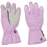 Poivre Blanc Purple Quilted Ski Gloves