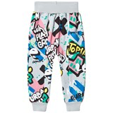 Koolabah Graffiti Pocket Pant Grey Multicolor