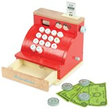 Le Toy Van Toy Cash Register with Play Money