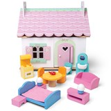 Le Toy Van Lilys Cottage Playhouse with Furniture