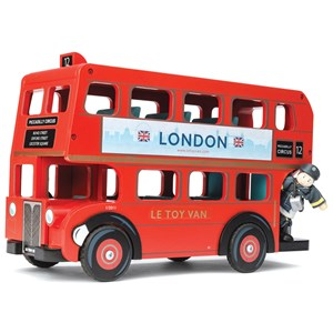 Le Toy Van London Bus with Driver One Size (3+ years)