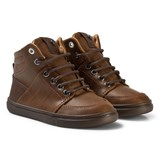 Mayoral Brown City Lace Up Boots