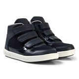 Mayoral Navy 3 Velcro Hi Tops