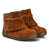 Mayoral Tan Fringed Boots