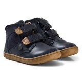 Mayoral Navy Velcro Leather Boots