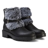 Lelli Kelly Black Sonya Faux Fur Ankle Boots