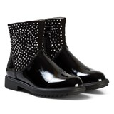 Lelli Kelly Black Joyce Diamante Ankle Boots