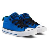 Converse Blue Chuck Taylor All Star Street Mid Trainers