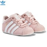adidas Originals Pink Gazelle Crib Trainers