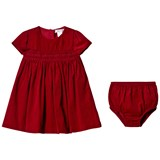 Ralph Lauren Red Corduroy Dress