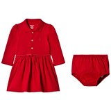Ralph Lauren Red Long Sleeve Polo Dress