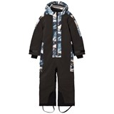 Molo Black Mountain Range Hopper Snowsuit