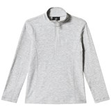 Bogner Grey Ada Lurex Half Zip Baselayer
