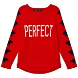 Perfect Moment Red Perfect Print Ski Sweater