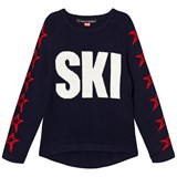 Perfect Moment Navy Ski Sweater