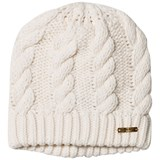 Gant Cream Cable Knit Hat