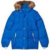 Ticket To Heaven Blue Down Jacket