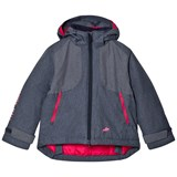 Harry Hall Pale Navy Lossie Junior Waterproof Hooded Jacket