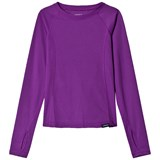 Lands' End Pink Solid Thermaskin Layering Top