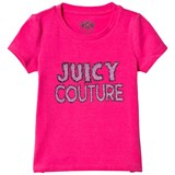 Juicy Couture Hot Pink Glitter Tee