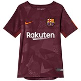 Barcelona FC Red Junior Barcelona FC Stadium Third Kit Jersey