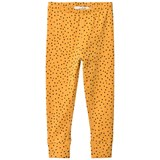 ANÏVE for the minors Yellow Tiny Dots Leggings