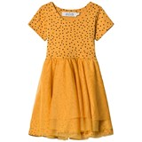 ANÏVE for the minors Dancing Dress Tiny Dots Yellow