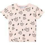 Scamp & Dude Blush Pink Superhero Slogan Print Tee