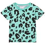 Scamp & Dude Green Leopard Print Tee