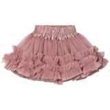 DOLLY by Le Petit Tom Frilly Skirt Mauve