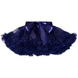 DOLLY by Le Petit Tom Dollywood Collection Chiffon Pettiskirt Dark Navy