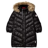 Reima Black Satu Down Jacket