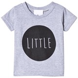 Tobias & The Bear Grey Tee With Little Black Print