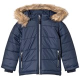 Kuling Navy Quilted Winter Jacket