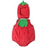 Travis Red Baby Strawberry Costume