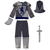 Travis Silver Crusader Knight Costume