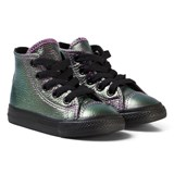 Converse Violet Metallic Chuck Taylor All Star Infant Hi Tops