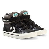 Converse Black Pro Blaze Strap Infant Hi-Tops