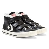 Converse Black One Star Player 3V Junior Mid Trainers